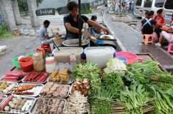 Cuisiner dans la rue Asie.