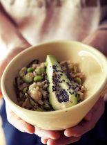salade de riz brun