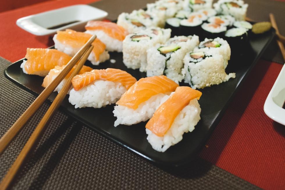 Sushi portion choix santé nutrition quebec